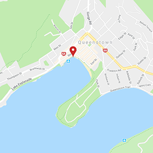 Hydro Attack located in central Queenstown